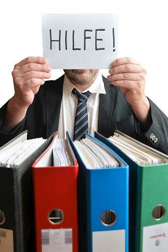 Stress im Büro kann gesundheitsschädlich sein