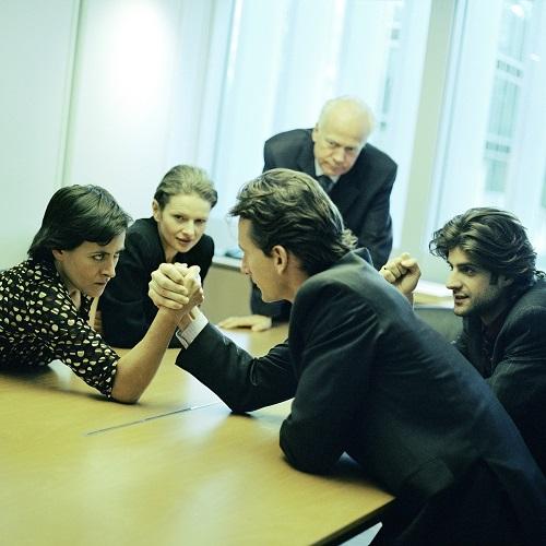 Streit im Büro und Konkurrenzdenken: Mit unseren Tipps sollte sich das vermeiden lassen
