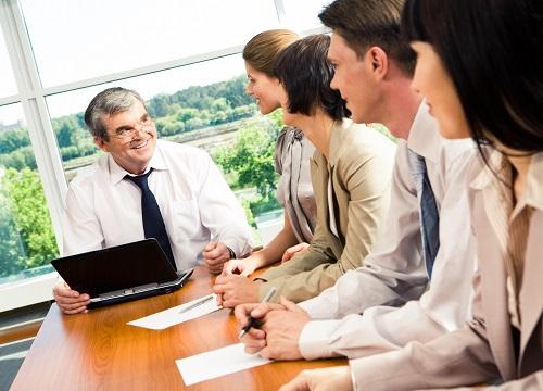 Besprechungen müssen im Voraus gut geplant werden
