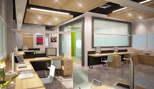 beleuchtung im b ro das richtige licht f r die b roarbeit. Black Bedroom Furniture Sets. Home Design Ideas