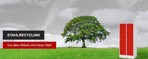 Stahlmöbel von BIG BOXX – Möbel aus Stahl – Beitrag zur Senkung von CO2-Emissionen