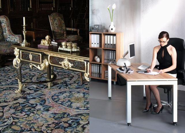 Arbeitsplatz Schreibtisch im Wandel der Arbeitswelt