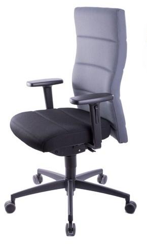 Bürostuhl Baltrum mit besonders flexiblen Armlehnen