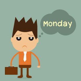 Schon wieder Montag? Wir haben 8 Tipps gegen den Montagsblues im Büro