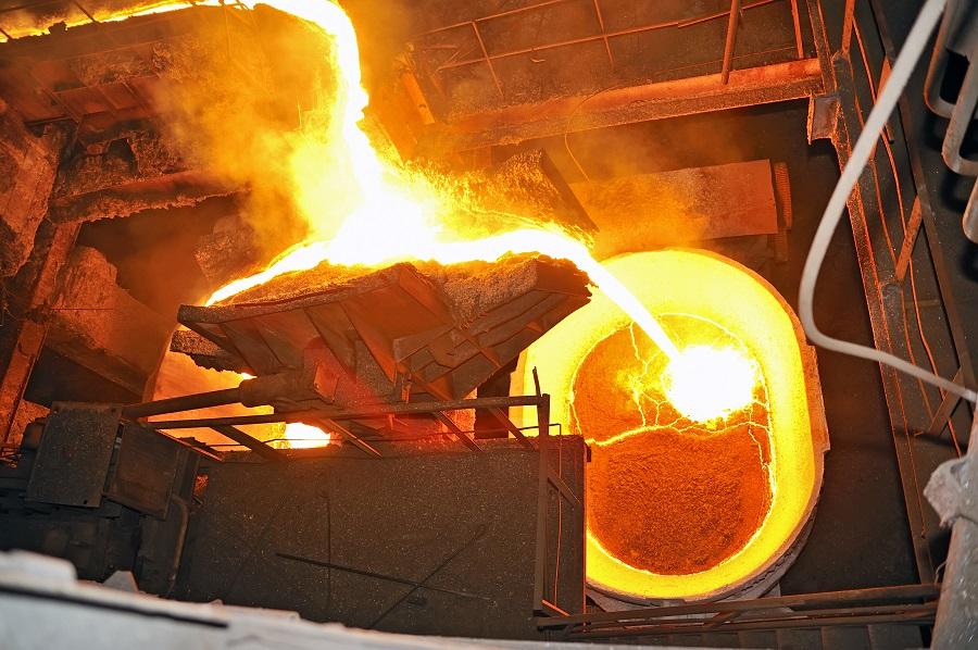 Heiß begehrt: Stahl ist weltweit der am häufigsten verwendete metallische Werkstoff