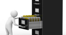 Hängeregistraturschränke aus Stahl sorgen für Übersichtlichkeit