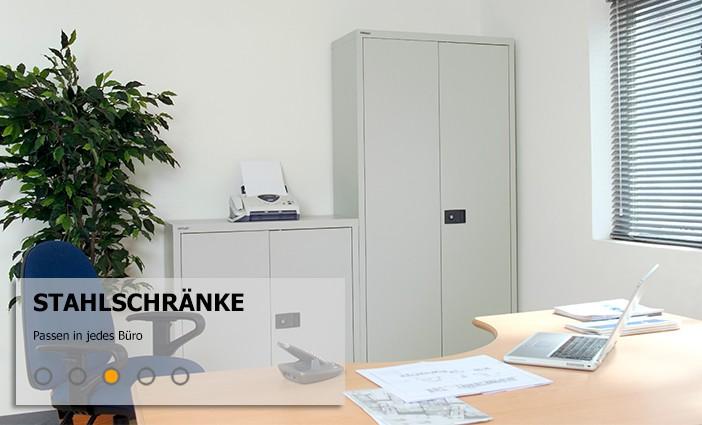 Stahlmöbel: Modern und trendy fürs Büro