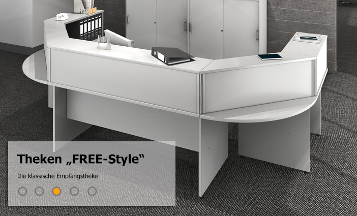 empfangstheke theke und tresen sensationspreise. Black Bedroom Furniture Sets. Home Design Ideas