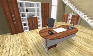 Ein Komplettbüro kann auch individeull angepasst werden